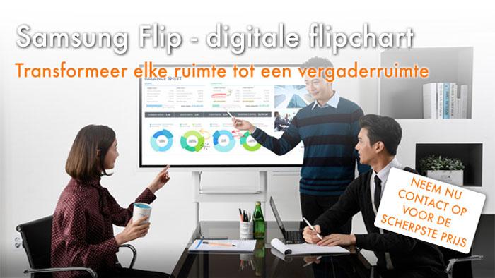2Orange - Samsung Flip - digitale flipchart
