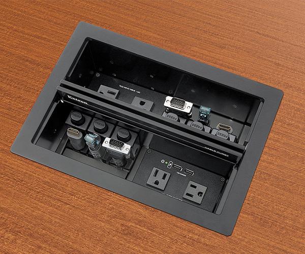 2Orange - Extron Cable Cubby voor vergaderruimtes