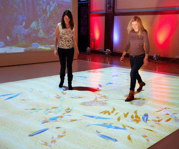 2Orange interactieve vloer