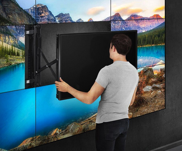 2Orange - video wall installatie