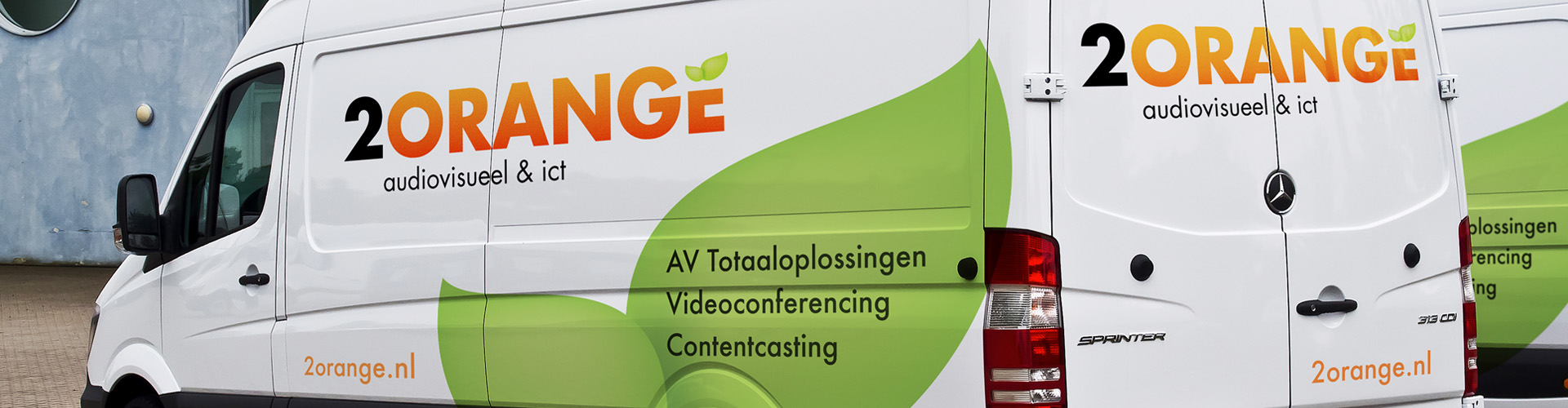 2Orange - audiovisuele en ict installaties