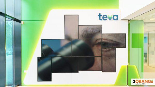 2Orange video wall